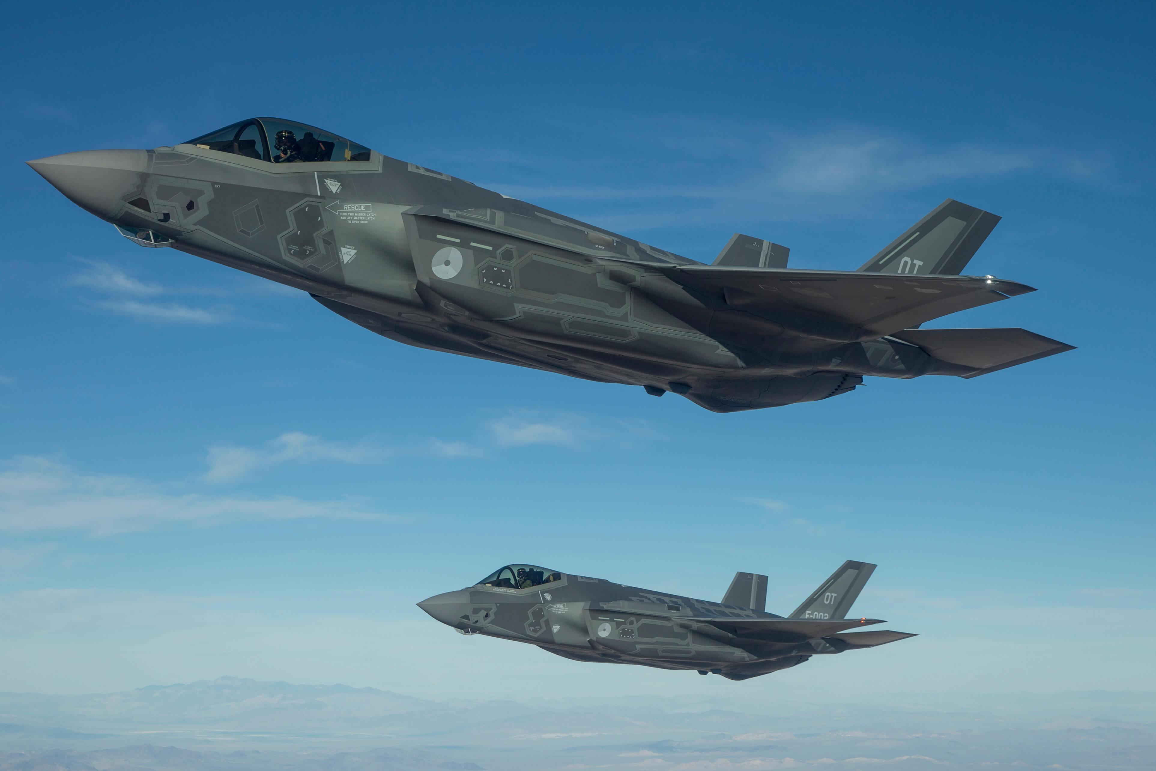 Jsf Op Luchtmachtdagen Onafhankelijke Defensiebond