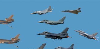 Luchtmacht oefening Frisian Flag 2017