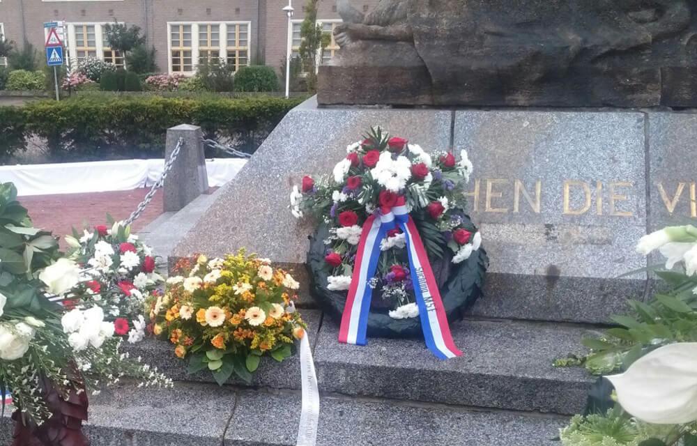 Herdenking einde WO2 en capitulatie Japan