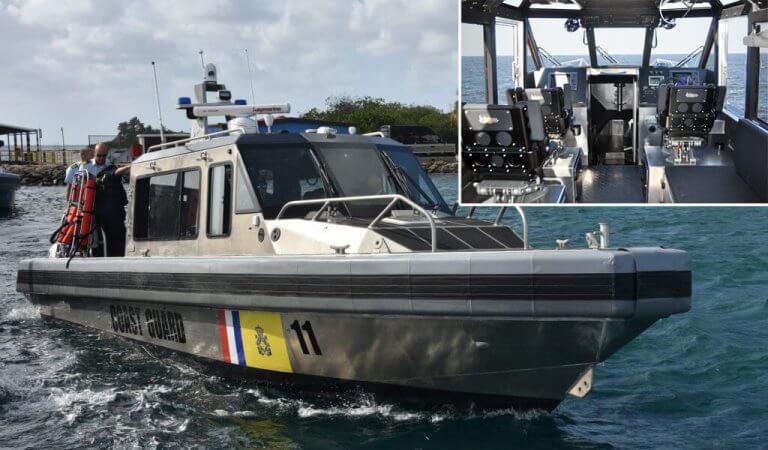 Nieuwe Boten Kustwacht Caribisch Gebied
