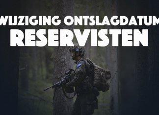 Aanstelling reservisten aangepast wegens nieuwe AOW-leeftijden