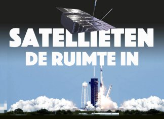 Noors-Nederlandse satellieten de ruimte in
