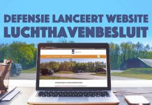 Defensie lanceert website over Luchthavenbesluit militaire vliegbases