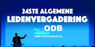 24 ste Algemene Ledenvergadering (ALV) van de Onafhankelijke Defensiebond (ODB) plaats in Nijmegen.