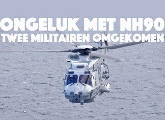 Crash met NH90 Zr.Ms.Groningen: twee militairen omgekomen