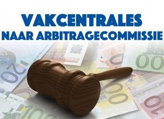 Vakcentrales naar arbitragecommissie om geschil loongebouw