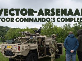 Vector-arsenaal voor commando's compleet