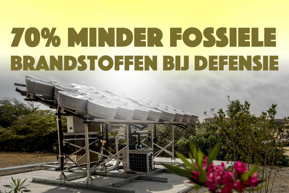 Defensie investeert in duurzame toekomst