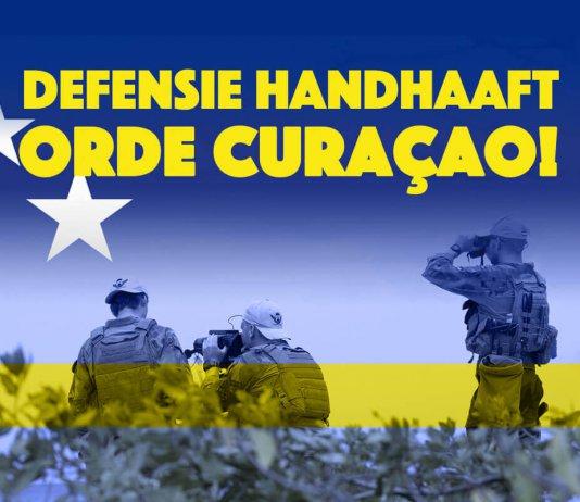 Defensie handhaaft orde Curaçao!