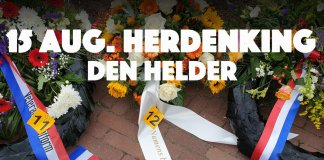 ODB bij 15 augustus herdenking Den Helder.