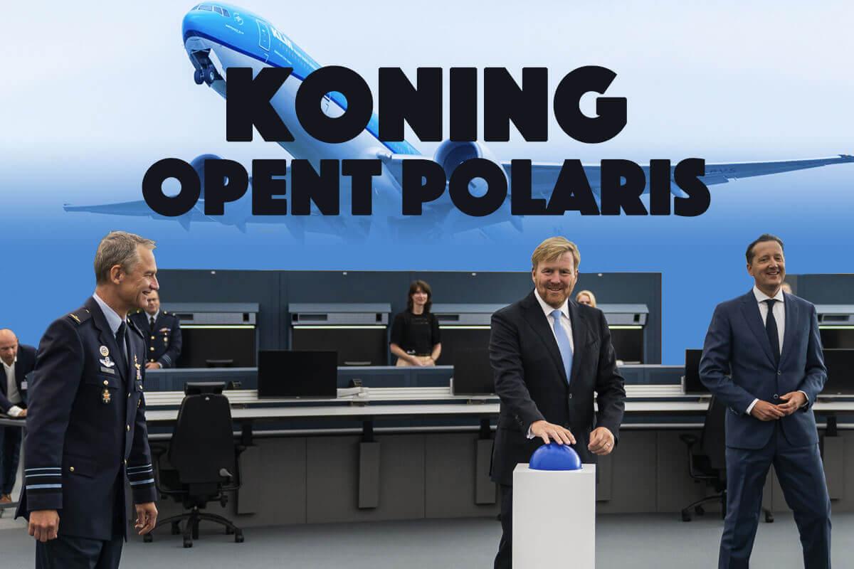 Koning opent Polaris