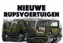 Nieuwe rupsvoertuigen Korps Mariniers