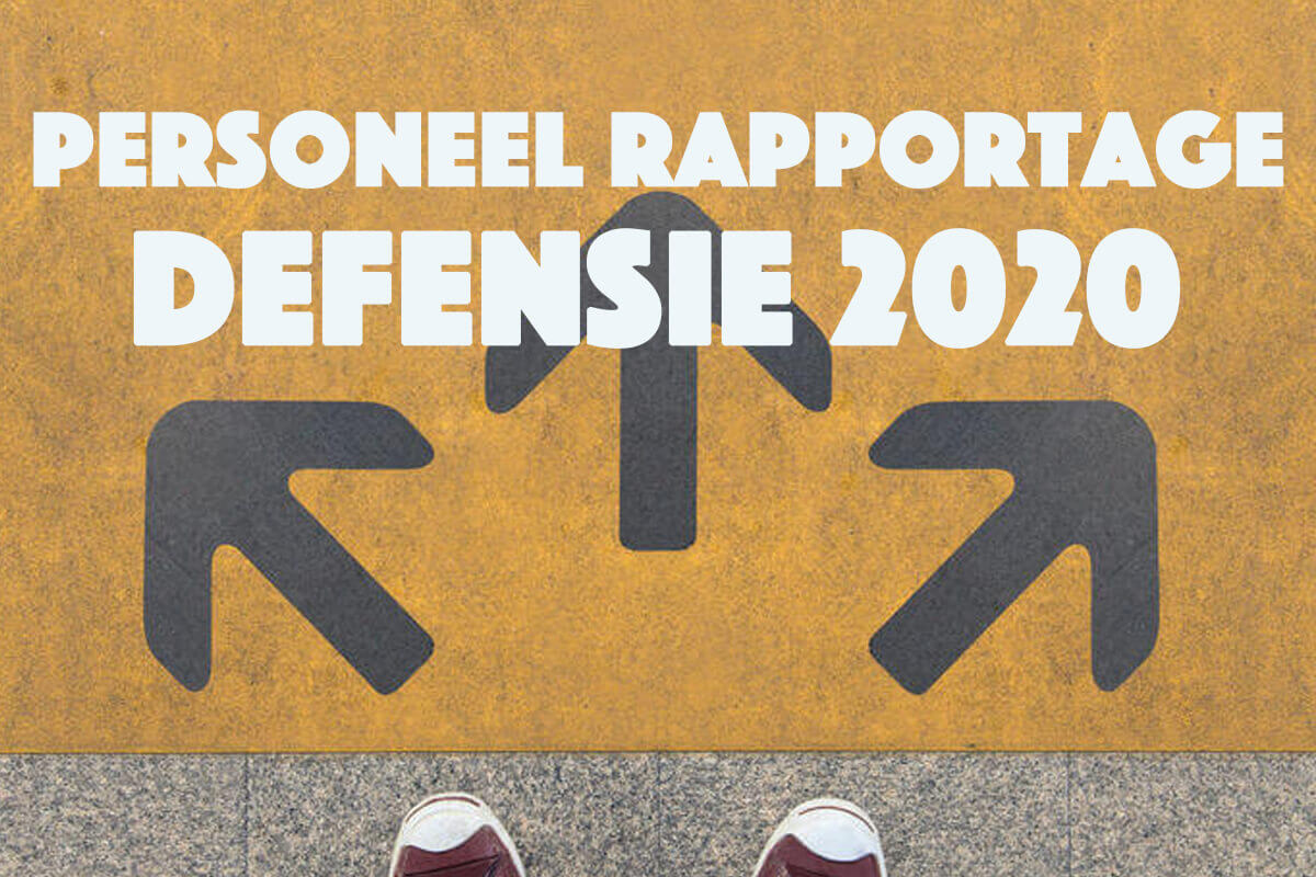 Personeel rapportage Defensie 2020