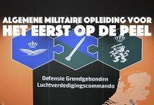 Algemene Militaire Opleiding voor het eerst op De Peel