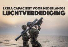 Extra capaciteit voor Nederlandse luchtverdediging