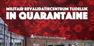 Deel Militair Revalidatiecentrum tijdelijk in quarantaine