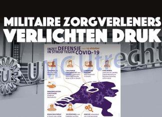 Militaire zorgverleners verlichten druk op ziekenhuizen Nederland