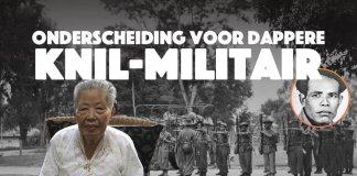 Alsnog onderscheiding voor dappere KNIL-militair