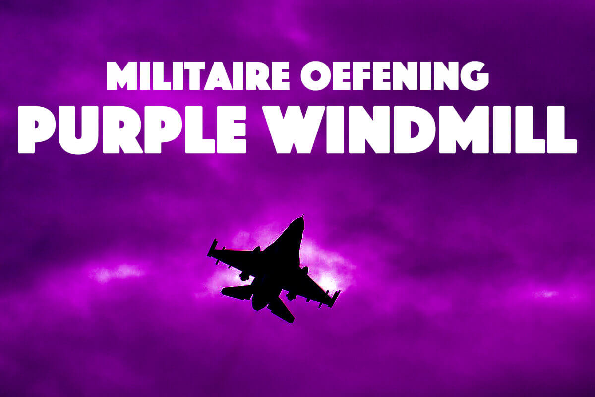 militaire oefening Purple Windmill