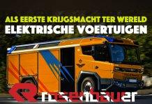 Brandweer Defensie gaat over op elektrische voertuigen