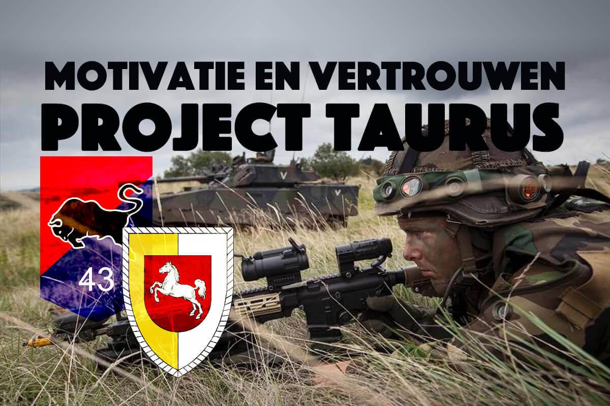 Motivatie en vertrouwen reden succes van Project Taurus