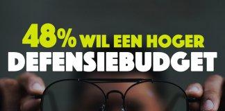 48% ondervraagde Nederlanders voor hogere Defensie-uitgaven