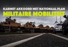 Kabinet akkoord met nationaal plan militaire mobiliteit