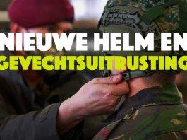 Militairen van 12 Infanteriebataljon in Schaarsbergen hebben 28 januari hun nieuwe gevechtsuitrusting en helm gekregen. De luchtmobiele eenheid ontving de eerste 40 pakketten en kreeg gelijk uitleg over het gebruik van de uitrustingsstukken.