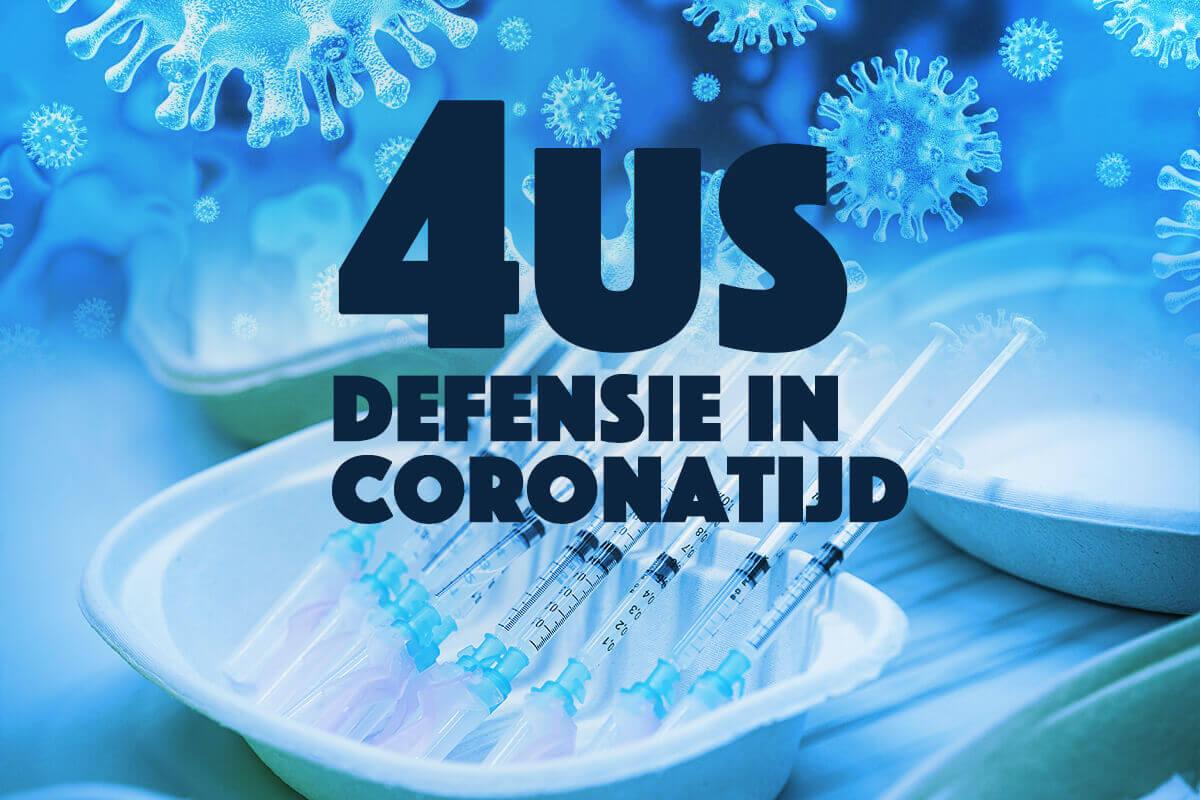 """Defensie in coronatijd: bijna 60.000 werkdagen """"at your service!"""""""