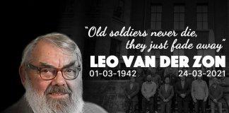 Afgelopen woensdag 24 maart 2021 is na een kort ziekbed Leo van der Zon op 78 jarige leeftijd overleden.