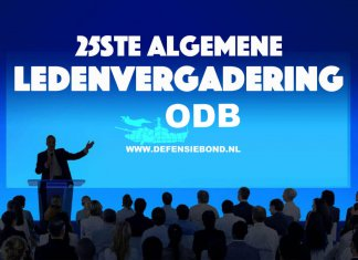 Op donderdag 6 mei vindt de 25ste Algemene Ledenvergadering (ALV) Van de Onafhankelijke Defensiebond (ODB) plaats via Skype (VoIP).