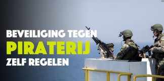 Beveiliging tegen piraterij niet langer alleen door Defensie