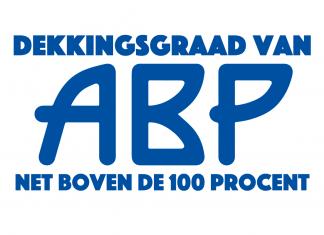 De dekkingsgraad van ABP net boven de 100 procent