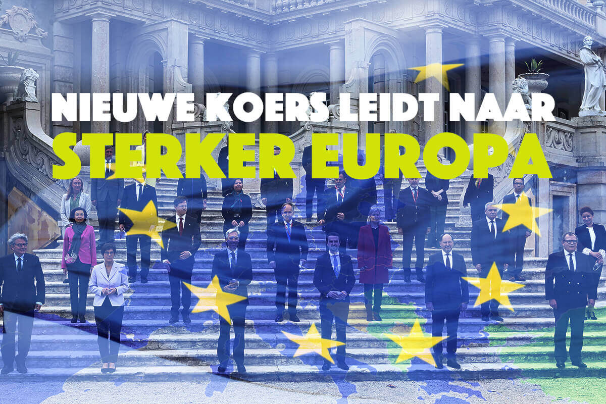 Nieuwe koers leidt naar sterker Europa