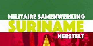 Suriname en Nederland herstellen militaire samenwerking