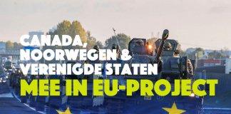 Canada, Noorwegen en VS mee in EU-project!
