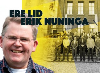 De ALV besloot 6 mei 2021 unaniem op voordracht van het Hoofdbestuur Erik Nuninga als Ere lid van de ODB te benoemen. Maar waarom heeft het bestuur Erik voorgedragen?