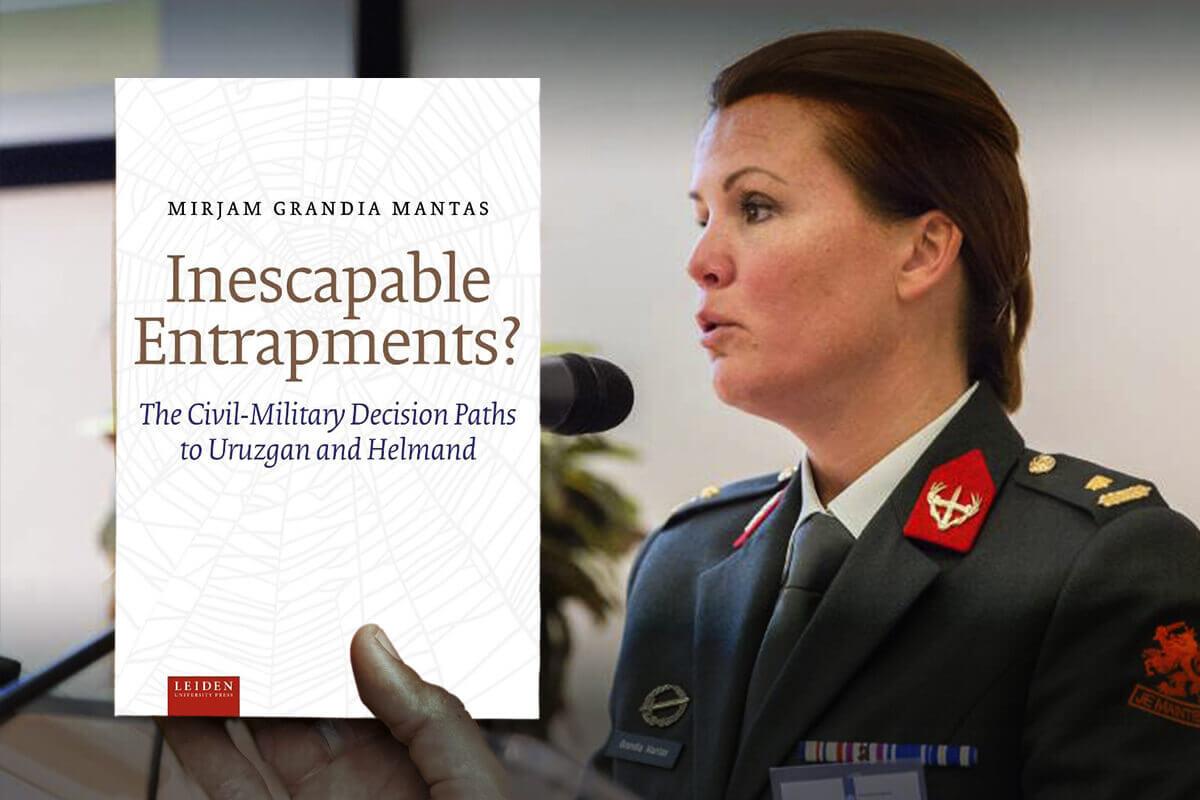 Het is een van de conclusies in het boek van luitenant-kolonel Mirjam Grandia. Dat gaat over de besluitvorming die leidde tot de missie. Ze reikte haar boek 12 mei jl. uit aan minister Ank Bijleveld-Schouten.