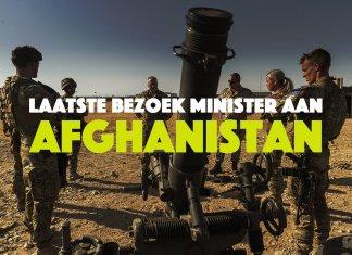 Laatste bezoek minister aan Afghanistan