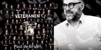 Vanaf 7 juli is het boek 'Veteranen' te koop. In het werk van fotograaf Paul de Graaff staan meer dan 100 verhalen en foto's van veteranen.