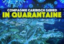 Landmachtcompagnie Caribisch gebied in quarantaine