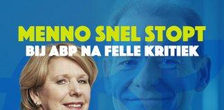 Menno Snel stopt als bestuurslid bij ABP na felle kritiek