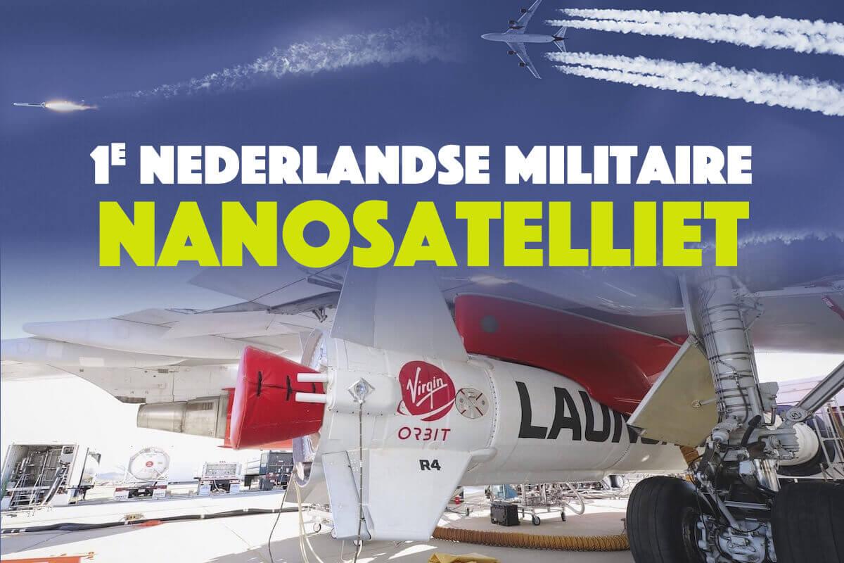 1e Nederlandse militaire nanosatelliet succesvol gelanceerd