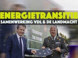 VDL en de Landmacht gaan samenwerken op het gebied van energietransitie