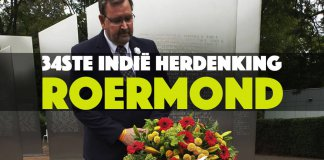34ste Indië herdenking Roermond