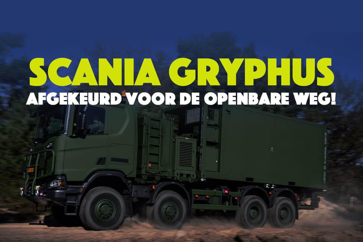 Scania Gryphus-variant voorlopig afgekeurd voor de openbare weg!!!